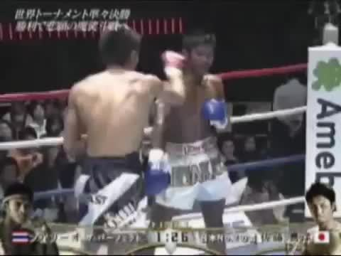MuayThai, muaythai, Buakaw getting knocked out by Yoshihiro Sato... people saying Buakawa took a dive, can anyone give more details? (reddit) GIFs
