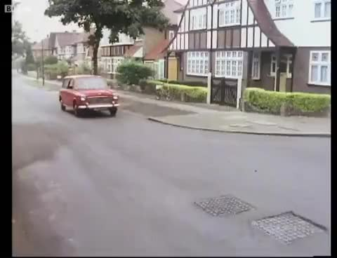 Watch and share Basil Attacks His Car - Fawlty Towers - BBC GIFs on Gfycat