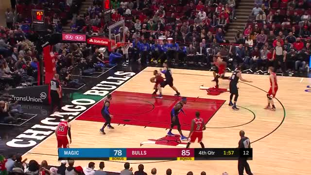 Watch and share Chicago Bulls GIFs and Orlando Magic GIFs on Gfycat