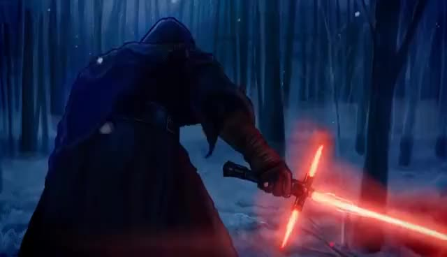 Watch and share Kylo Ren GIFs on Gfycat