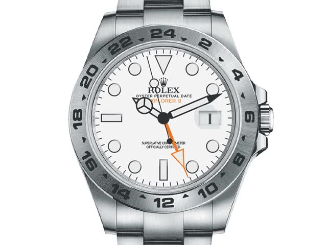 Watch and share Rolex Explorer II Animation {gif} GIFs on Gfycat