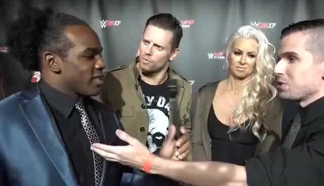 Watch and share The Miz Vows He'll Win His Rematch W/ Austin Creed! — Expansion Pack GIFs on Gfycat