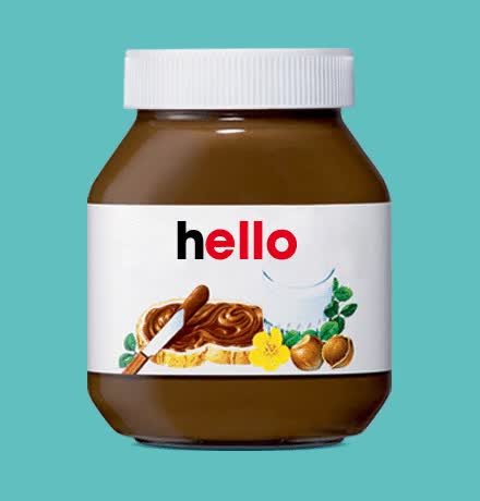 Watch and share Nutella Hello Baby GIFs on Gfycat