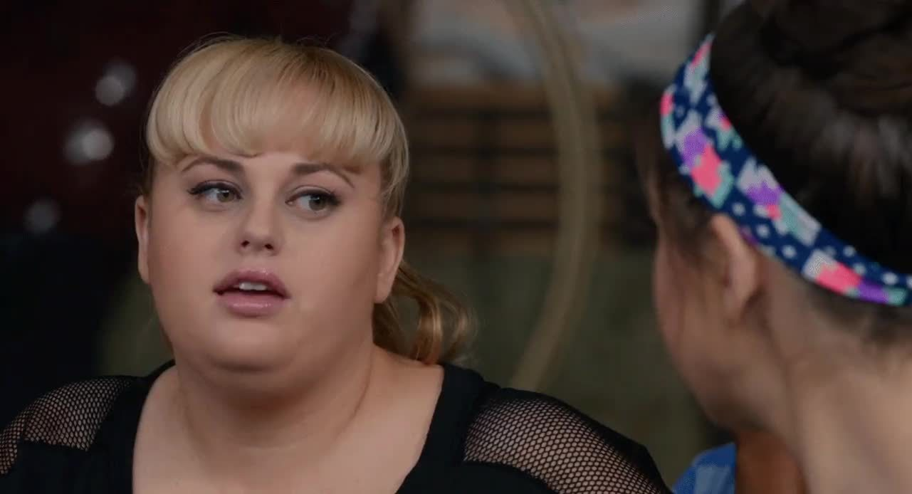 gfycatdepot, guiltypleasuremusic, idiot, rebel wilson,  GIFs