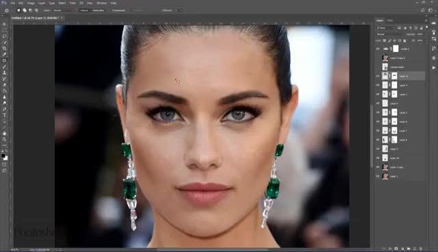 Watch and share Adriana Lima GIFs on Gfycat