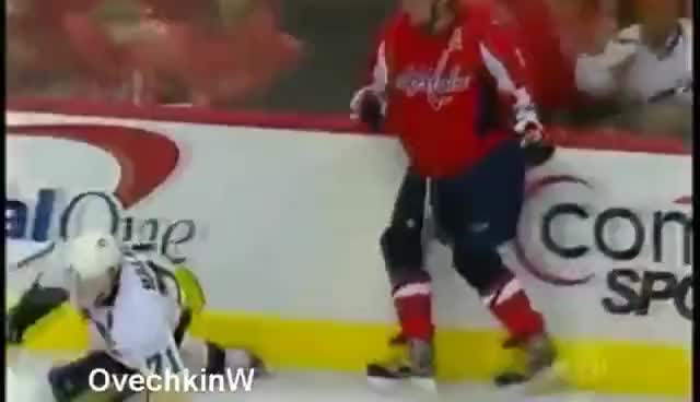 Watch OVECHKIN CELEBRATES GIF on Gfycat. Discover more alexander ovechkin, capital, hockey, nhl, ovechkin, sports, washington, washington capitals GIFs on Gfycat
