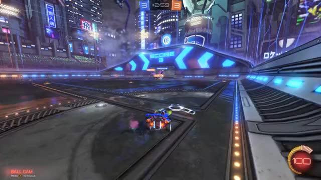 Watch Double? GIF by Jawaad (@jawaad132) on Gfycat. Discover more Goal, Competitive, Goal, Rocket League, RocketLeague GIFs on Gfycat