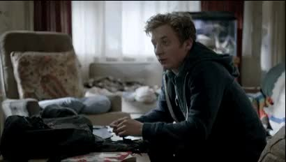 Watch Shameless GIF on Gfycat. Discover more 4x10, debbie gallagher, fave, lip gallagher, lip x debbie, liver i hardly know her, shameless us GIFs on Gfycat