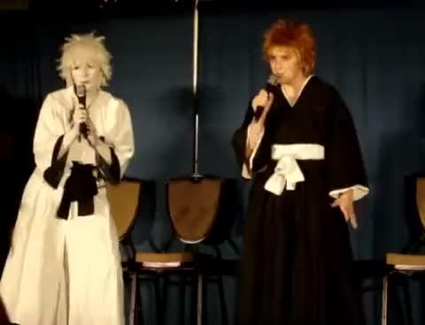 Watch Ichigo and Hollow Ichigo Sing2 GIF on Gfycat. Discover more Ichigo Hollow bleach funny GIFs on Gfycat