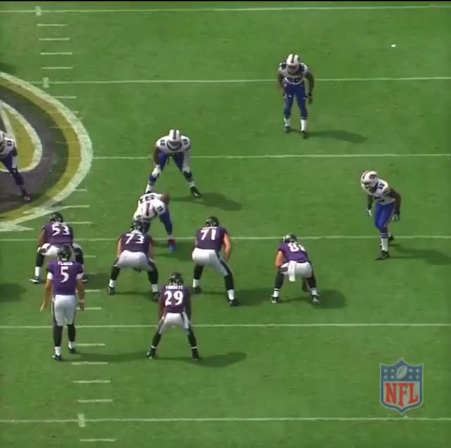 Watch and share Hughes Run Stop Ravens GIFs by Cover 1 on Gfycat