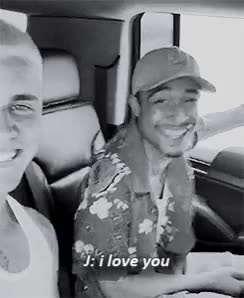Watch and share Khalil: @justinbieber Love You Too Bro GIFs on Gfycat