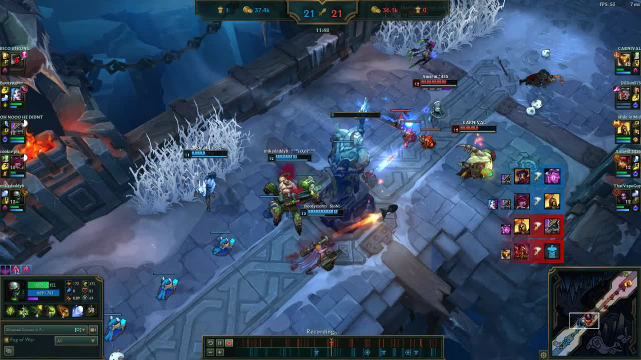 [aram][bard] ult outplay GIFs