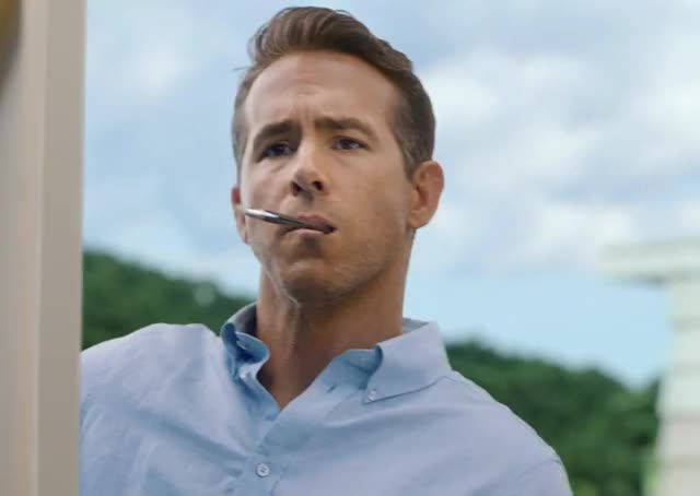 Watch and share Ryan Reynolds GIFs and Painting GIFs by Deus GIF Machina on Gfycat
