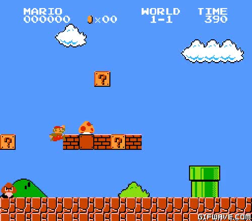 Watch and share Mushroom Kingdom GIFs and Question Block GIFs on Gfycat
