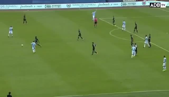 Watch and share Luis Alberto Vs Milan - [10/09/17] - HD GIFs on Gfycat