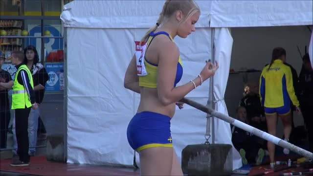 Watch Sexy Swedish Athlete GIF on Gfycat. Discover more GirlsPlayingSports, girlsplayingsports, imagesofthe2010s GIFs on Gfycat