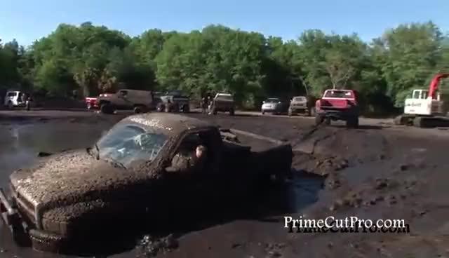 Watch and share Truck Stuck In Mud GIFs on Gfycat