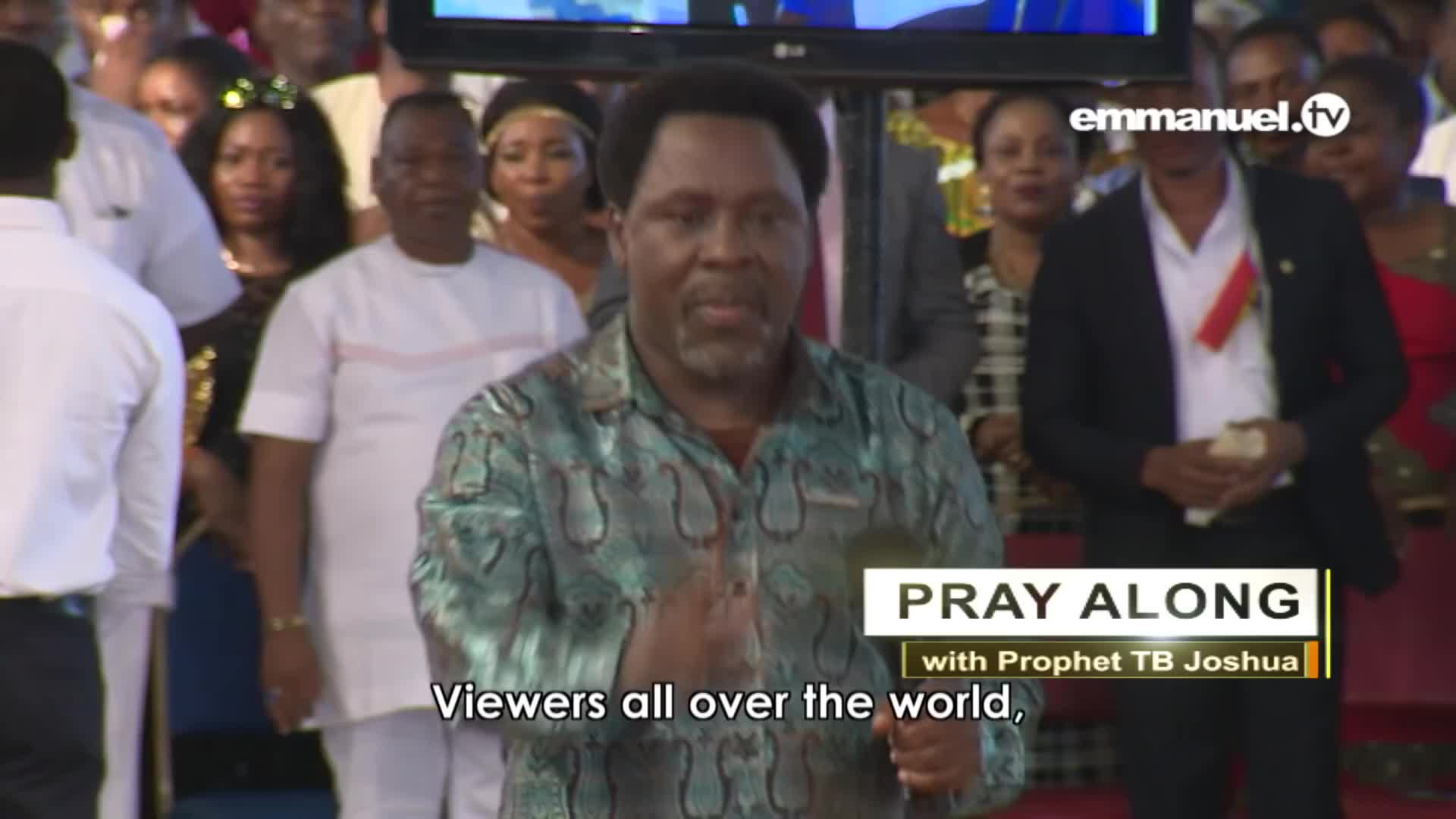 GODS POWER UNLEASHED ON YOUTUBE Pray With Prophet T B Joshua