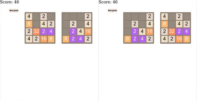 Watch 2048 - Multiplayer GIF on Gfycat. Discover more related GIFs on Gfycat
