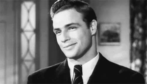Watch and share Marlon Brando GIFs and That Look GIFs on Gfycat