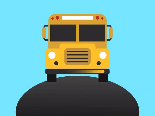 Watch and share Off To School Bus GIFs on Gfycat