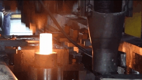 hot forge press GIFs