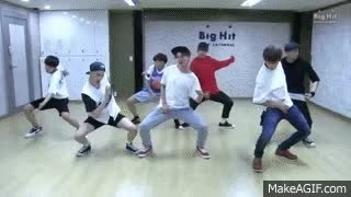 Watch and share BTS - DOPE (Dance Practice) GIFs on Gfycat