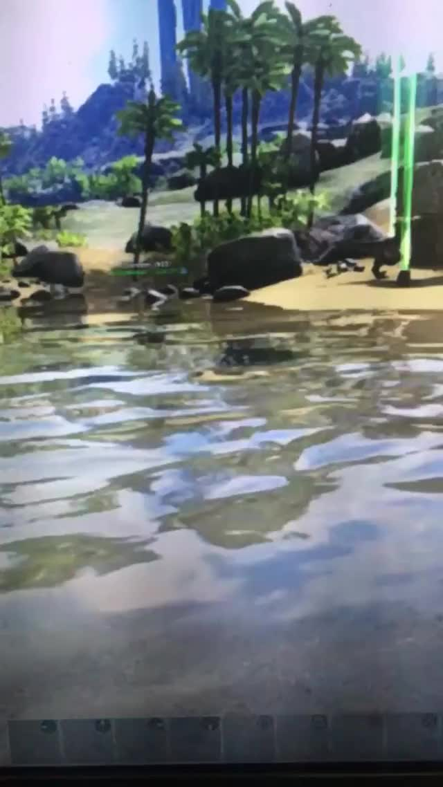 Watch and share Ark Survival GIFs and Friend GIFs by vannie2410 on Gfycat