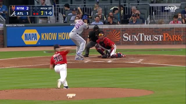 Watch and share Atlanta Braves GIFs and New York Mets GIFs by leapyear_for_science on Gfycat