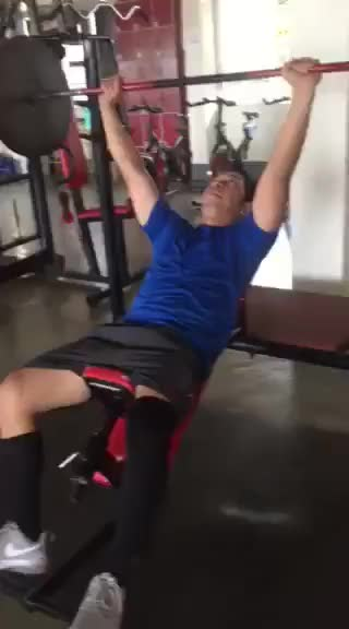 Watch and share Benchpress GIFs and Gym GIFs by Toykutz on Gfycat
