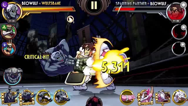 Watch Beowulf Combo Contest GIF by Skullgirls Mobile (@sgmobile) on Gfycat. Discover more Skullgirls, Skullgirls Mobile, sgmobile GIFs on Gfycat