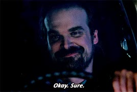 Watch this david harbour GIF on Gfycat. Discover more david harbour, okay, sure GIFs on Gfycat