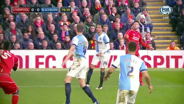 Mario Balotelli foul not called GIFs