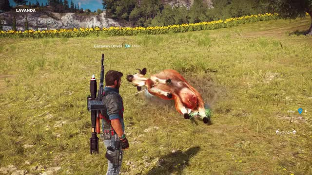 Watch Rave Cow! GIF on Gfycat. Discover more gaming, justcause3 GIFs on Gfycat