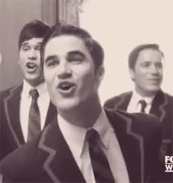 Watch and share Blaine Anderson GIFs and Teenage Dream GIFs on Gfycat