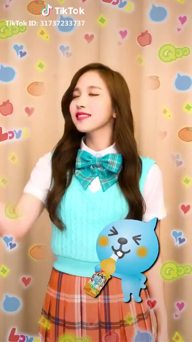 Watch Mina GIF by Jhinius_Twice (@coop33) on Gfycat. Discover more Mina, Qoo, Twice, celebs, kpop GIFs on Gfycat