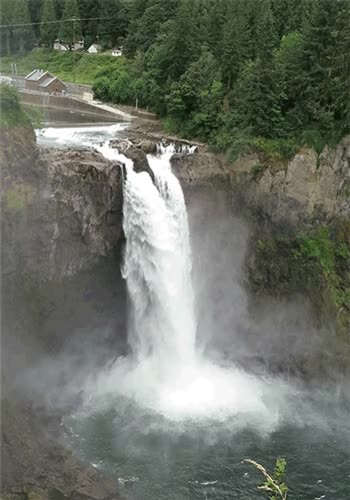 Watch and share Snoqualmie Falls GIFs and Washington GIFs on Gfycat