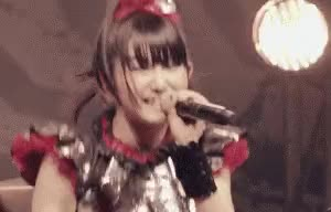 Watch this trending GIF by Tanksenior (@tanksenior) on Gfycat. Discover more BABYMETAL, Su-Metal GIFs on Gfycat