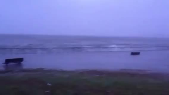Watch Hurricane Sandy 7:00 p.m. 10/29/12 walkway by belt parkway, brooklyn GIF on Gfycat. Discover more 8TH, Bay, Brooklyn, Parkway, Walk, big, hurricane, sandy, water, wave, way, windy GIFs on Gfycat