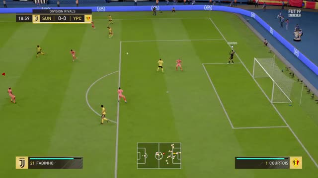 FIFA 19 Wonder Goal of Gareth Bale (finesse shot)
