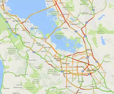 Typical Bay Area Day to Estimate Trucking GIFs