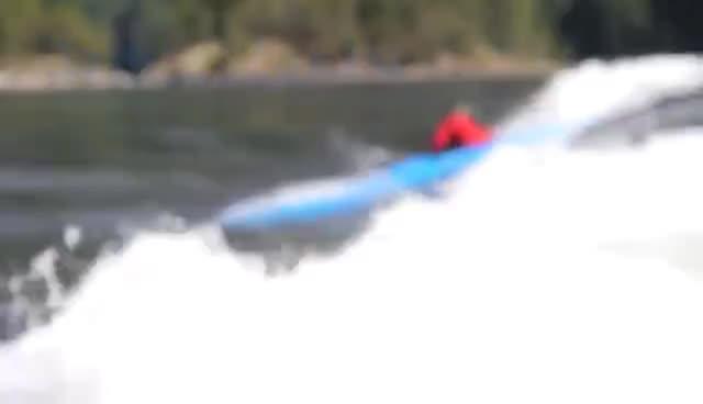 kayak, TRAK Folding Kayak Meets the Skookumchuck GIFs