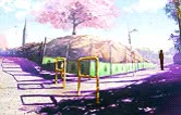 """Watch aaa""""aaa GIF on Gfycat. Discover more 5 centimeters per second, 5 cm per second, About distance, Animation, Anime, Beautiful movie is beautiful, Byousoku 5 cm, Love, Tohno and Akari GIFs on Gfycat"""
