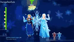 Watch It's all in the eyes GIF on Gfycat. Discover more anna, elsa, elsanna, frozen, frozen edit, headbang, hips, is this for kids?, just dance, srsly i laughed, wtf srsly is this for kids GIFs on Gfycat