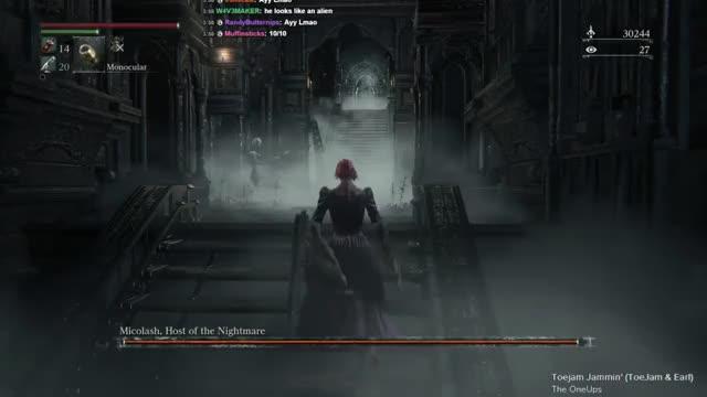 Bloodborne Community/Wooden Shield Run