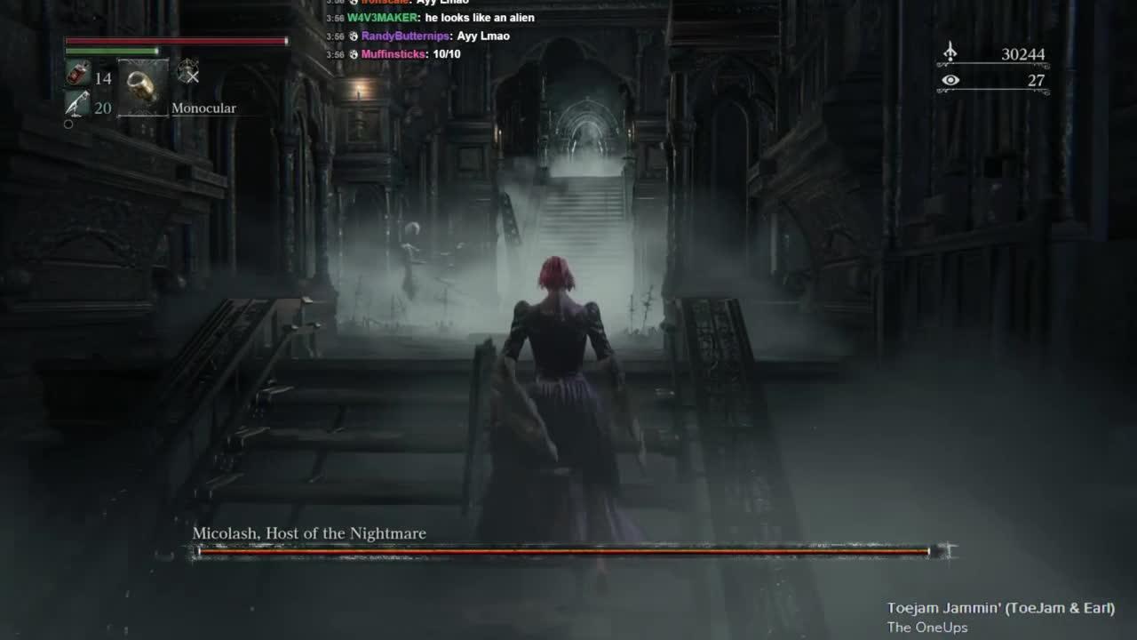 games, lobosjr, twitch, Bloodborne Community/Wooden Shield Run GIFs
