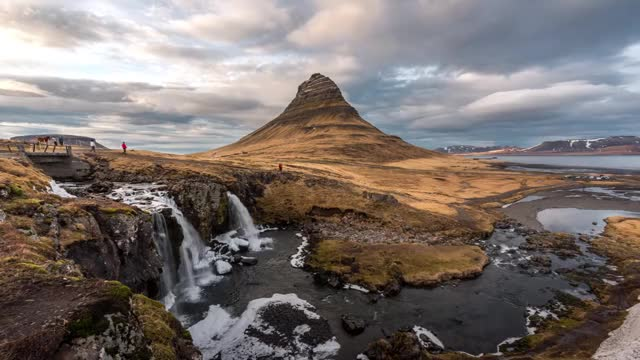 Watch Kirkjufell timelapse GIF by @peterm on Gfycat. Discover more aurora, iceland, night, northern light, photography, timelapse, vacation GIFs on Gfycat