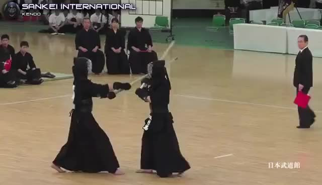 Watch Kendo「剣道」- Amazing Shiai - Five vs One [VID:20140706EW001] GIF on Gfycat. Discover more related GIFs on Gfycat