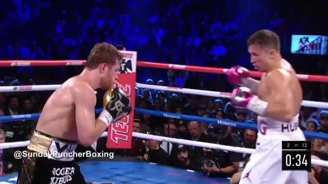 Watch Canelo goes to the body!  GIF by @stnstn on Gfycat. Discover more . caneloggg2, alvarez, body body bodyyyyy, boxing, canelo, ggg, golovkin, knockdown, knockout GIFs on Gfycat