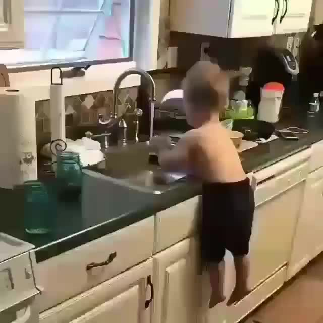 Washing the dishes GIFs